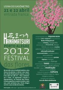 Cartaz - Hanamatsuri 2012